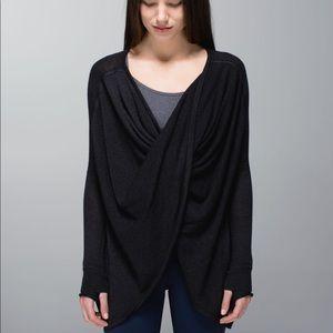 Lululemon Twist and Wrap Sweater